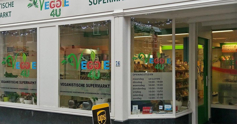Bezoek onze winkel in Den Haag! Weimarstraat 76, 2562 HA info@veggie4u.nl ☎ 070-7670069 Openingstijden: di. t/m vrij. 10.00