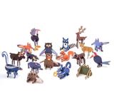 PLAYin CHOC ToyChoc Box WOODLAND ANiMALS (2 x 10g chocolate + toy)_