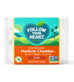 Follow Your Heart Medium Cheddar slices 200g *THT 16.04.2022* KOELPRODUCT_