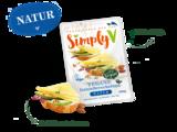 Simply V Vegane Geniesserscheiben Natural 150g *THT 20.06.2019*_