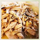 Nature's Charm young groen jackfruit (shredded) in water 565g_