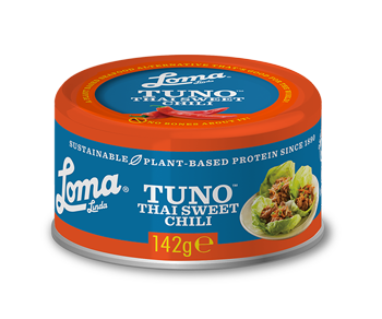 Loma Linda Fishless Tuno - Thai Sweet Chilli 142g