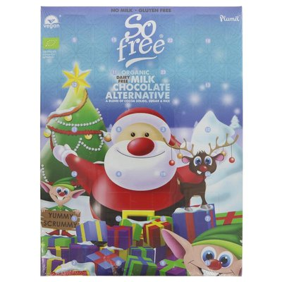 Plamil So Free Milk Advent Calendar 110g