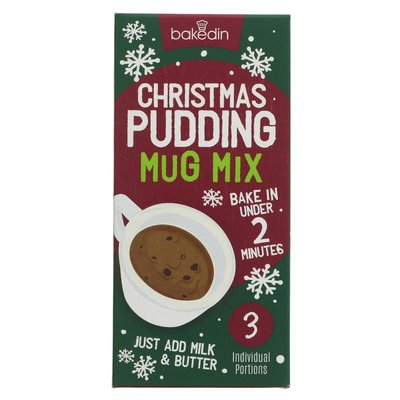 Bakedin Christmas Pudding Mug Mix 240g