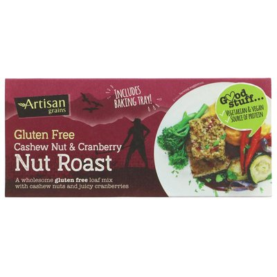 Artisan Grains Nut Roast - Cashew & Cranberry 200g