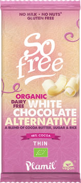 Plamil So Free White Chocolate 70g
