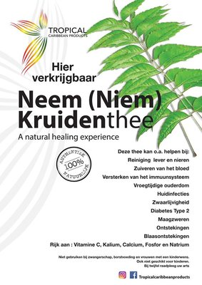 Tropical Caribbean Products NEEM ( NIEM ) Kruidenthee 25g