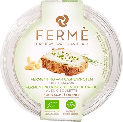 Fermé Cashew fermentino spread bieslook 100g *THT 28.11.2019*