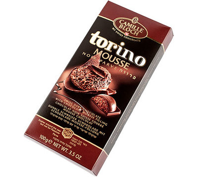 Camille Bloch TORINO MOUSE NOIR Chocolate 100g