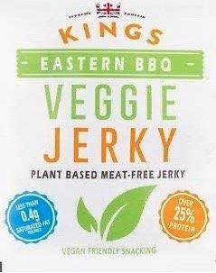 Kings Eastern BBQ Veggie Jerky 25g *THT 15.01.2020*