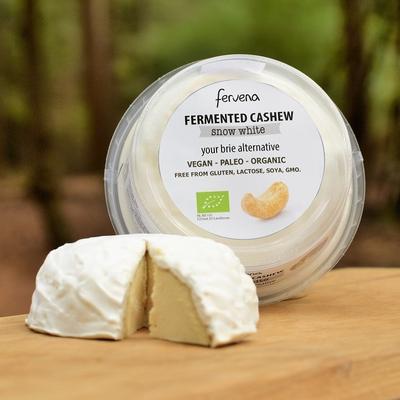 Fervena - Snow White- Fermented Cashew 100g  *THT 29.02.2020*