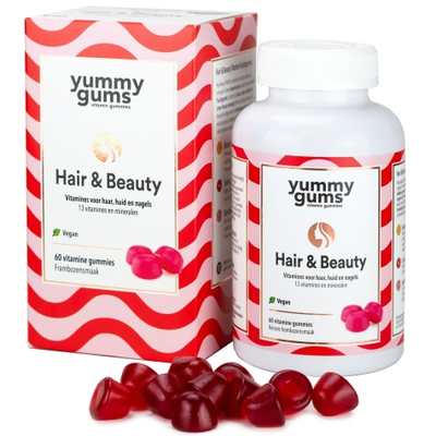 Yummygums - Hair & Beauty - 60 Gummies