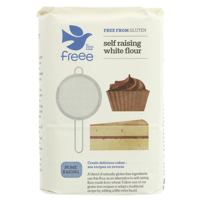 Doves Farm White Self Raising Flour GF 1kg