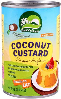 Nature's Charm Cocos custard 400g *BBD 10.09.2020*