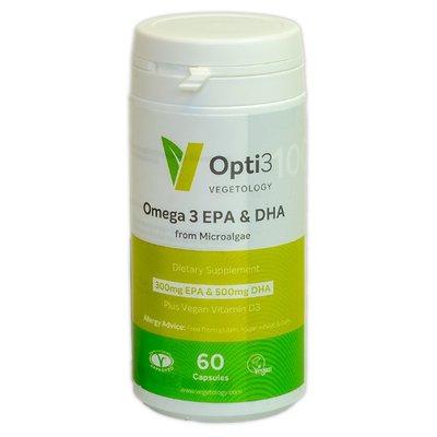 Vegetology Opti3 - Omega 3 EPA & DHA 60 capsules