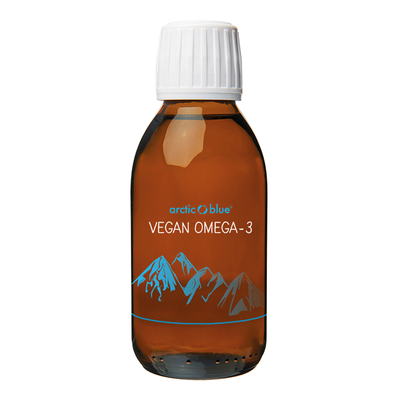Arctic blue Vegan Omega 3 (fles 150 ml)