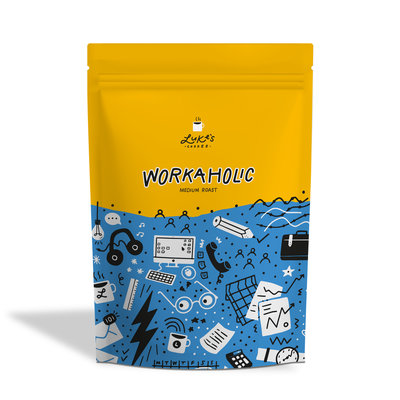 Luke's WORKAHOLIC Medium roast coffee 250g
