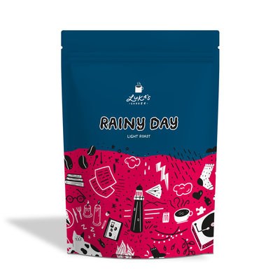 Luke's RAINY DAY light roast Coffee 250g