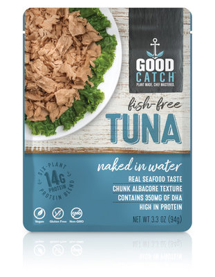 GoodCatch Fish-free tuna naked in water 94g *THT 01.05.2021*