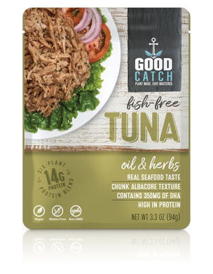 GoodCatch Fish-free tuna Oil & Herbs 94g