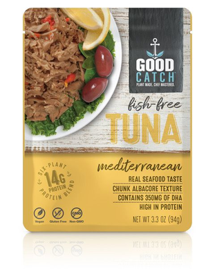 GoodCatch Fish-free tuna, Mediterranean 94g