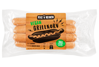 Peas of Heaven (grilkorn) Vegan hot dog 300g  *THT 20.07.2020*