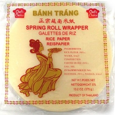 Chef's Choice Rice paper 16 cm 375g