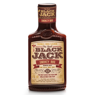 Remia Black Jack smokey bbq 450ml