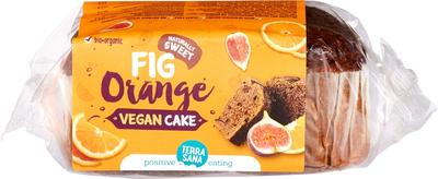 TerraSana Vegan cake vijgen sinaasappel 350g