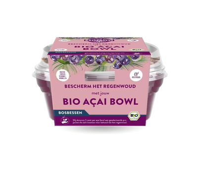 Rainforest Organic Açaí Bowl To Go - Blueberry 190g