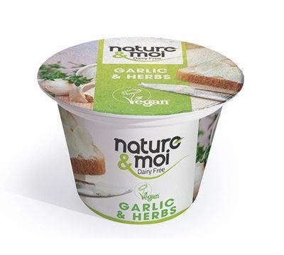 Nature & Moi Garlic & Herbs spread 150g
