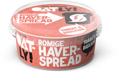 Oatly Haver spread Tomaat & Basilicum 150g