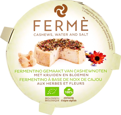 Fermé Cashew fermentino kruiden/bloemen 90g *THT 21.07.2020*