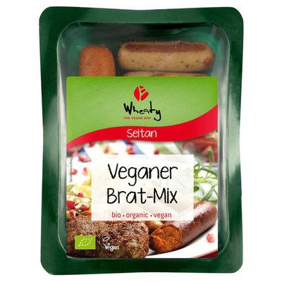 Wheaty Bio Veganar Brat-Mix (BBQmix) 200g