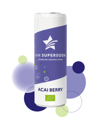 Iam Supersoda Acai Berry 250ml