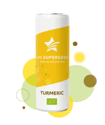 Iam Supersoda Turmeric 250ml
