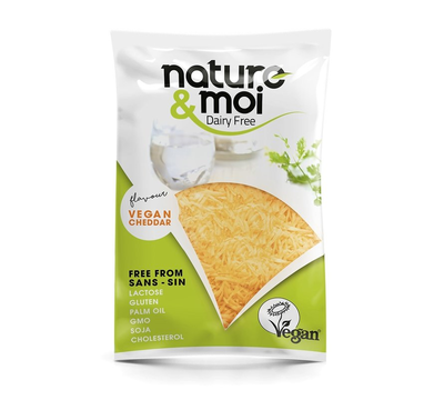 Nature & Moi Grated Cheddar 200g *THT 01.05.2021*