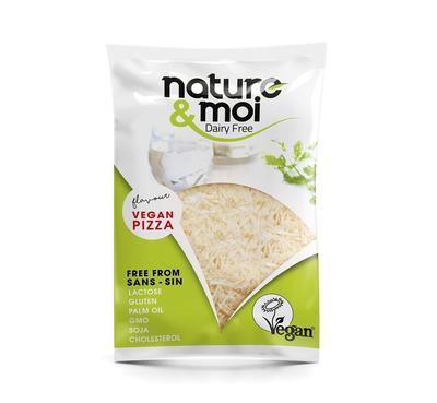 Nature & Moi Geraspte Kaas Vegan Pizza (Mozzarella) 200g