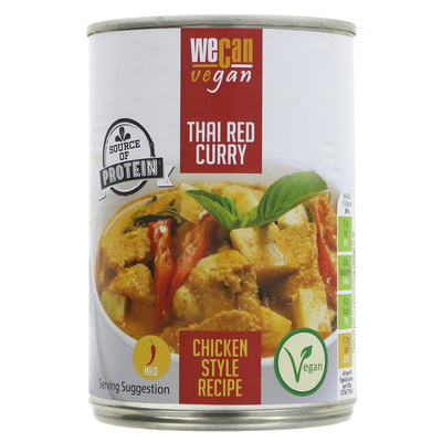 We Can Vegan Thai red curry 400g
