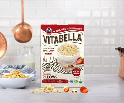 Vitabella Strawberry Pillows GF Bio 300g