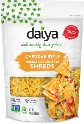 Daiya Cheddar Style Cutting Board Shreds 200g