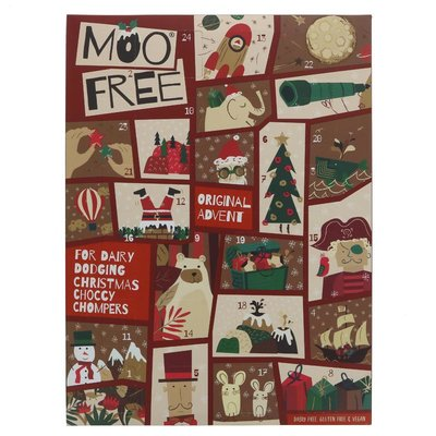 Moo Free Original choc Advent Calendar 70g