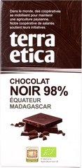 Terra Etica Pure chocolade 98% 100g