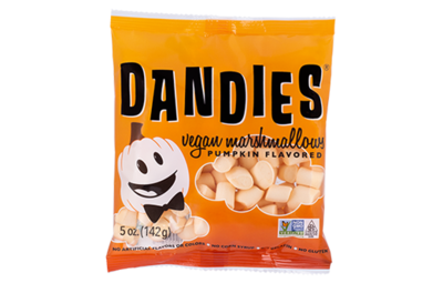 Dandies Pumkin mini Marshmallows 142g  *THT 30.03.2021*