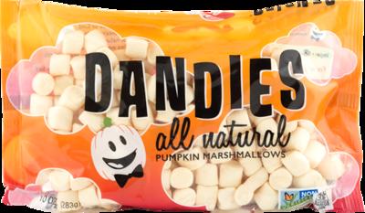 Dandies Marshmallows Mini Pumkin Flavour 680g (Catering Size)*THT  09.09.2021*