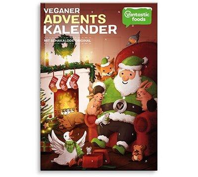 Vantastic foods Schakalode Adventskalender Original 150g