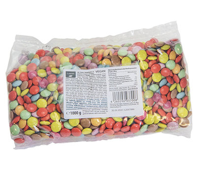 CLARANA COLOURED CHOCOLATE BEANS 1000G