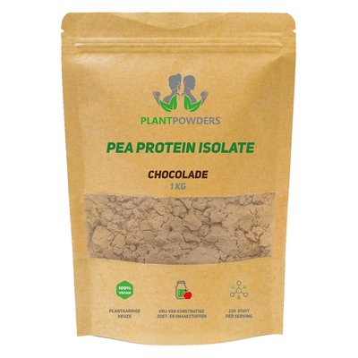 PlantPowders Pea Protein Isolate Chocolade 1kg