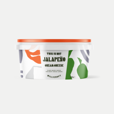 Willicroft This is not Jalapeño Cream Cheese 135g
