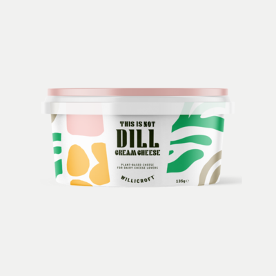 Willicroft This is not Dill Cream Cheese 135g *THT 27.04.2021*
